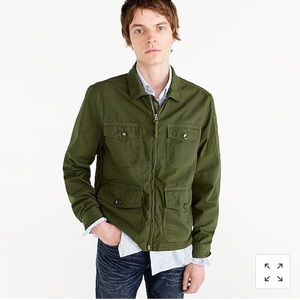 Jcrew Four Pocket Utility Jacket